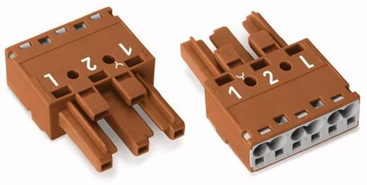 Netz-Steckverbinder WINSTA MIDI Serie (Netzsteckverbinder) WINSTA MIDI Buchse, gerade Gesamtpolzahl: 3 25 A Braun WAGO