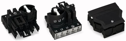 Netz-Verteiler Netz-Stecker - Netz-Buchse Gesamtpolzahl: 5 Weiß WAGO 770-661 10 St.