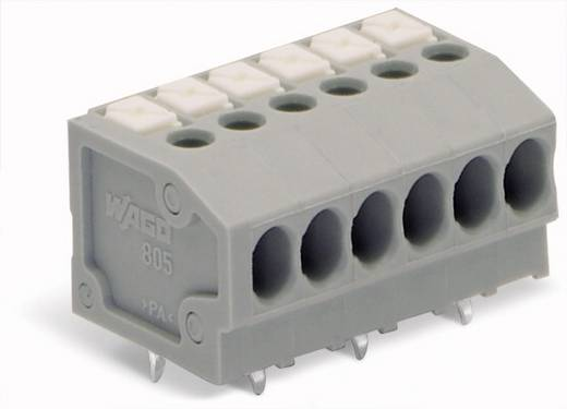 Federkraftklemmblock 1.50 mm² Polzahl 13 WAGO Grau 100 St.