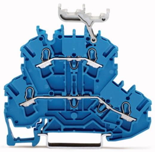Doppelstock-Durchgangsklemme 5.20 mm Zugfeder Belegung: N, N Blau WAGO 2002-2234 50 St.