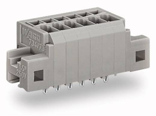 Federkraftklemmblock 1.50 mm² Polzahl 3 739-303/100-000/001-000 WAGO Grau 400 St.