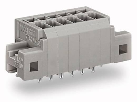 Federkraftklemmblock 1.50 mm² Polzahl 8 739-308/100-000/001-000 WAGO Grau 100 St.