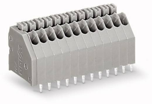 Federkraftklemmblock 0.50 mm² Polzahl 17 WAGO Grau 100 St.