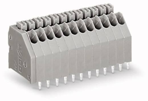Federkraftklemmblock 0.50 mm² Polzahl 23 WAGO Grau 80 St.