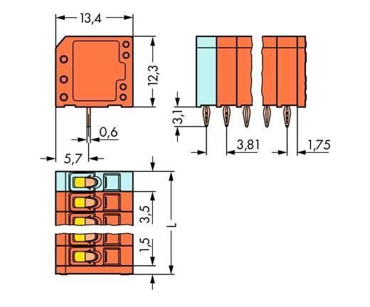 Federkraftklemmblock 1.50 mm² Polzahl 9 739-339/100-000 WAGO 120 St.