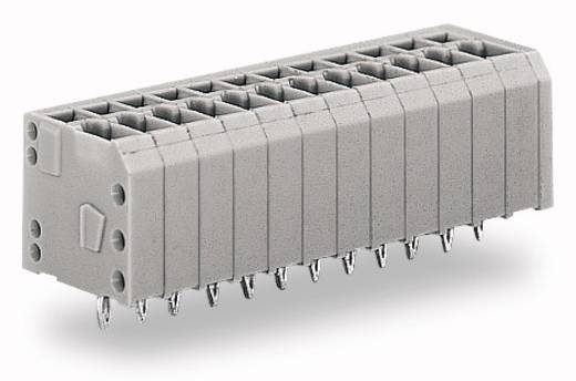 Federkraftklemmblock 1.50 mm² Polzahl 4 WAGO Grau 300 St.