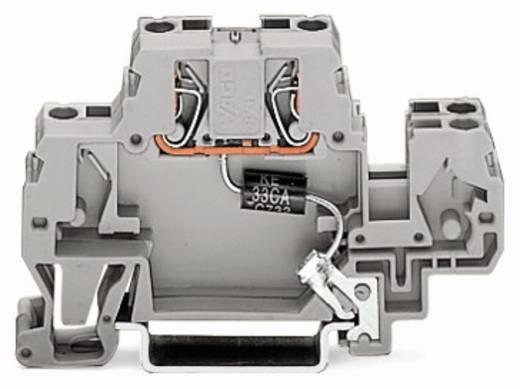 Einzelklemme 10 mm Zugfeder Belegung: L Grau WAGO 870-523/281-595 25 St.