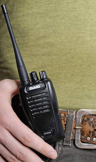 PMR-Handfunkgerät MAAS Elektronik PMR-Funkgerät PT-819 2016