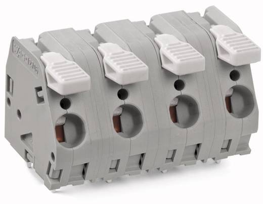 Federkraftklemmblock 6.00 mm² Polzahl 11 2706-311 WAGO Grau 5 St.