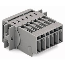 Zásuvkové púzdro na kábel WAGO 769-614/002-000, 85.40 mm, pólů 14, rozteč 5 mm, 10 ks