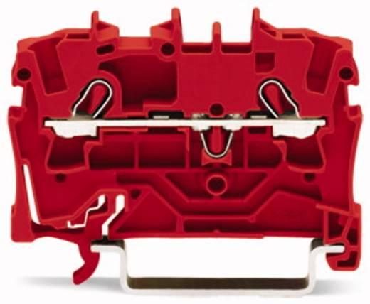 Durchgangsklemme 5.20 mm Zugfeder Rot WAGO 2002-1203 100 St.