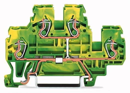 Doppelstock-Schutzleiterklemme 5 mm Zugfeder Belegung: PE Grün-Gelb WAGO 870-507 50 St.