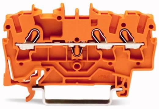 Durchgangsklemme 5.20 mm Zugfeder Orange WAGO 2002-1302 100 St.