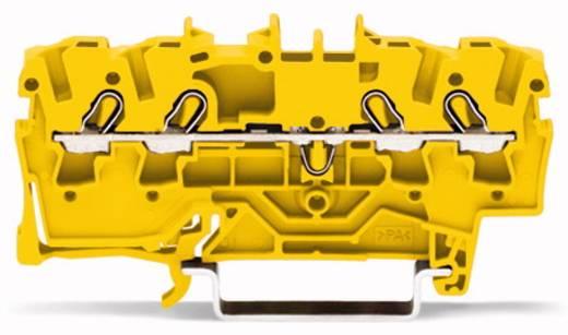 Durchgangsklemme 5.20 mm Zugfeder Gelb WAGO 2002-1406 100 St.