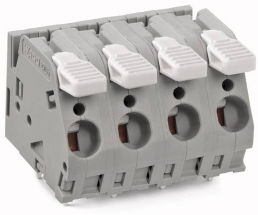 Federkraftklemmblock 6.00 mm² Polzahl 6 2706-256 WAGO Grau 20 St.