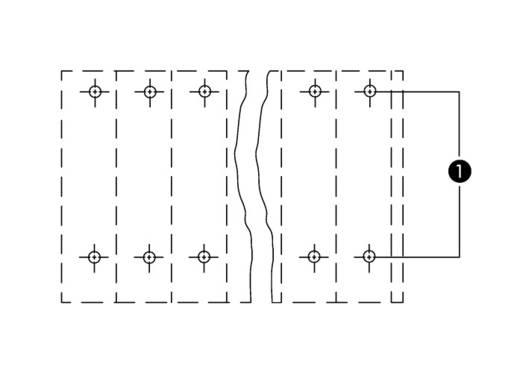 Doppelstockklemme 0.34 mm² Polzahl 14 736-107/000-016 WAGO Grün-Gelb 49 St.