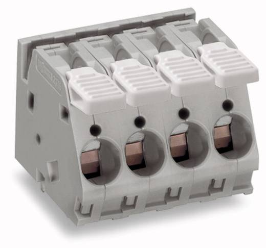 Federkraftklemmblock 6.00 mm² Polzahl 3 WAGO Grau 32 St.