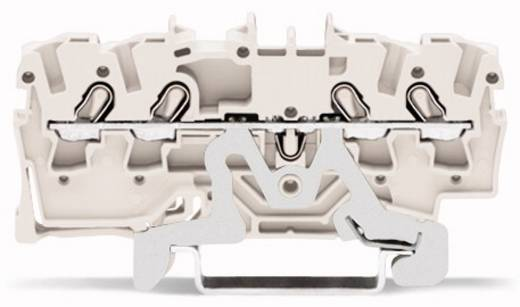 Schirmleiterklemme 5.20 mm Zugfeder Weiß WAGO 2002-1408 100 St.
