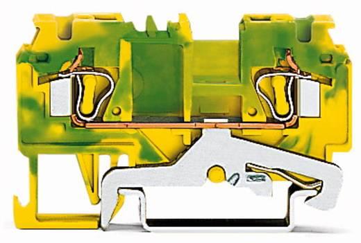 Schutzleiterklemme 5 mm Zugfeder Belegung: PE Grün-Gelb WAGO 880-907/999-940 100 St.