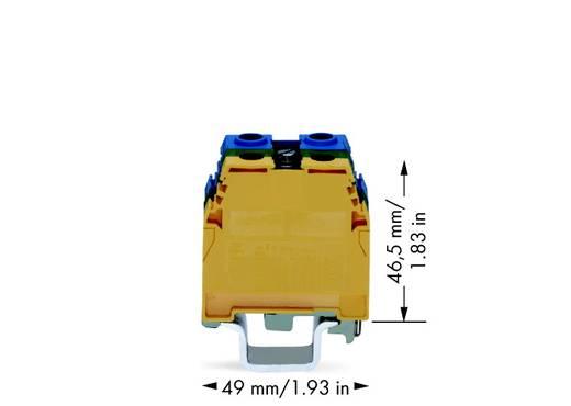Schutzleiterklemme 32 mm Schrauben Belegung: PE Grün-Gelb WAGO 400-465/465-575 10 St.