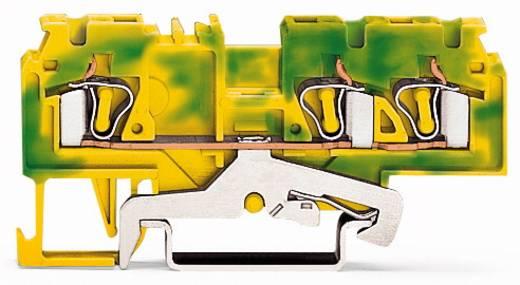 Schutzleiterklemme 5 mm Zugfeder Belegung: PE Grün-Gelb WAGO 880-687/999-940 100 St.