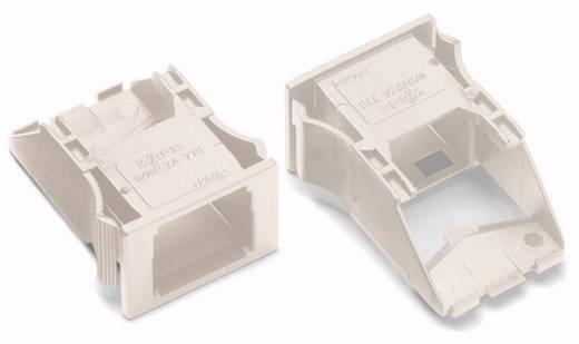 Snap-In-Rahmen WAGO Weiß 100 St.