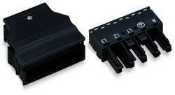 Connecteur d'alimentation Femelle droite WAGO 770-105 25 A Nbr total de pôles: 5 noir Série WINSTA MIDI 25 pc(s)