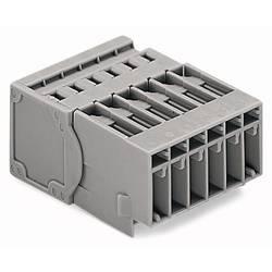Zásuvkové púzdro na kábel WAGO 769-610/001-000, 53.60 mm, pólů 10, rozteč 5 mm, 25 ks