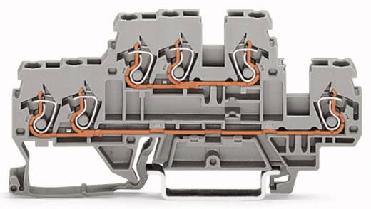 Doppelstock-Durchgangsklemme 5 mm Zugfeder Belegung: N, L Grau WAGO 870-532 50 St.