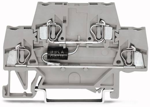 Doppelstock-Diodenklemme 10 mm Zugfeder Belegung: L Grau WAGO 280-944/281-589 50 St.