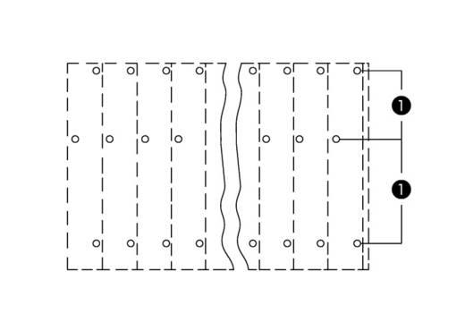 Dreistockklemme 2.50 mm² Polzahl 6 737-402 WAGO Orange 96 St.