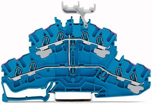 Doppelstock-Durchgangsklemme 5.20 mm Zugfeder Belegung: N Blau WAGO 2002-2439 50 St.