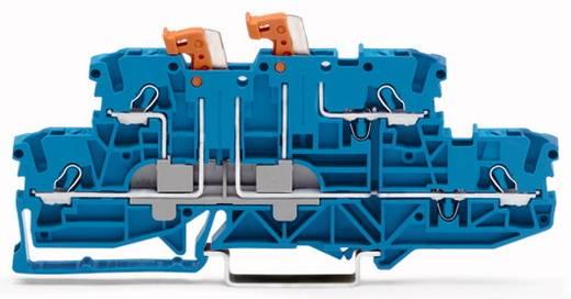 Doppelstock-Trennklemme 5.20 mm Zugfeder Belegung: N, N Blau WAGO 2002-2954 50 St.