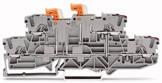 Doppelstock-Trennklemme 5.20 mm Zugfeder Belegung: L, L Grau WAGO 2002-2958 50 St.