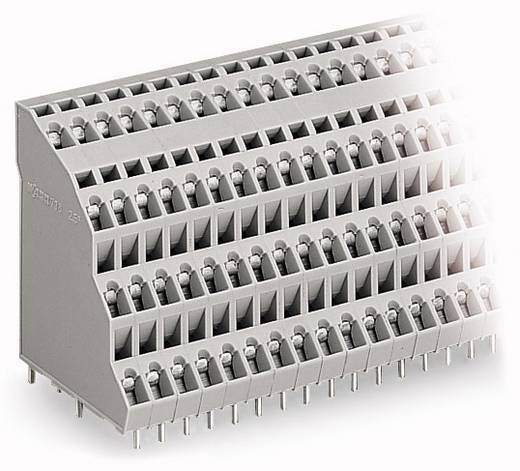 Federkraftklemmblock 2.50 mm² Polzahl 32 738-208 WAGO Grau 18 St.