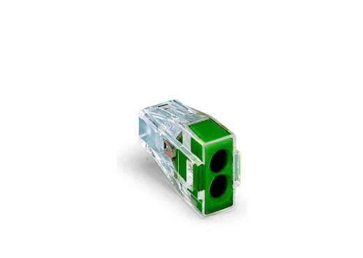Dosenklemme starr: 0.75-2.5 mm² Polzahl: 2 WAGO 1000 St. Transparent