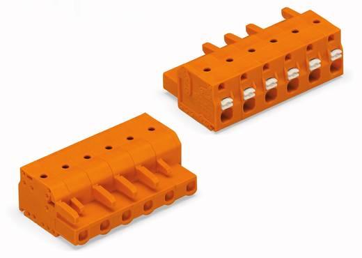 WAGO Buchsengehäuse-Kabel 2231 Polzahl Gesamt 5 Rastermaß: 7.62 mm 2231-705/026-000 50 St.