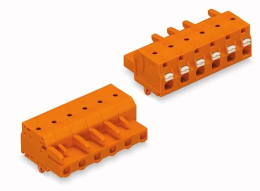 WAGO Buchsengehäuse-Kabel 2231 Polzahl Gesamt 4 Rastermaß: 7.62 mm 2231-704/008-000 50 St.