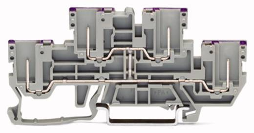 Doppelstock-Durchgangsklemme 5 mm Steck-Klemm Belegung: L Grau WAGO 870-158 50 St.