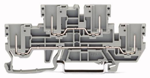 Basisklemme 5 mm Zugfeder, Steck-Klemm Belegung: L, L Grau WAGO 870-151 50 St.