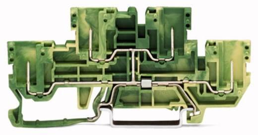 Doppelstock-Schutzleiterklemme 5 mm Zugfeder, Steck-Klemm Belegung: PE Grün-Gelb WAGO 870-157 50 St.