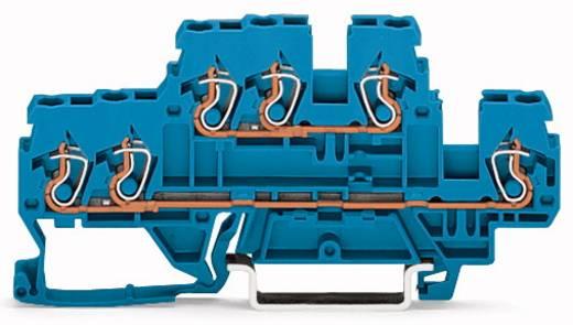 Doppelstock-Durchgangsklemme 5 mm Zugfeder Belegung: N, N Blau WAGO 870-534 50 St.
