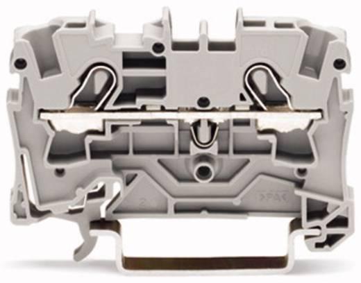 Durchgangsklemme 6.20 mm Zugfeder Gelb WAGO 2004-1206 50 St.