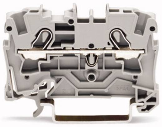 Durchgangsklemme 6.20 mm Zugfeder Schwarz WAGO 2004-1205 50 St.