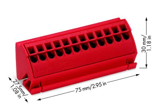 Anschlussblock 4 mm² WAGO Inhalt: 10 St.