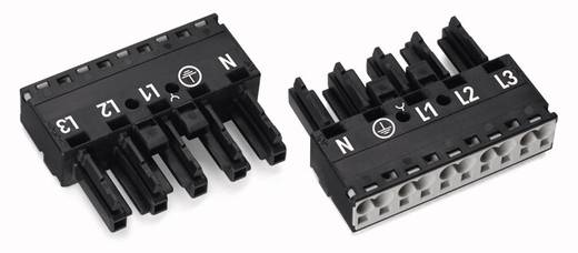 Netz-Steckverbinder Serie (Netzsteckverbinder) WINSTA MIDI Buchse, gerade Gesamtpolzahl: 5 25 A Schwarz WAGO 50 St.