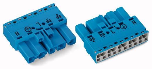 Netz-Steckverbinder Serie (Netzsteckverbinder) WINSTA MIDI Stecker, gerade Gesamtpolzahl: 5 25 A Blau WAGO 50 St.