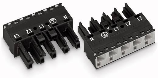 Netz-Steckverbinder Serie (Netzsteckverbinder) WINSTA MIDI Buchse, gerade Gesamtpolzahl: 5 25 A Weiß WAGO 50 St.