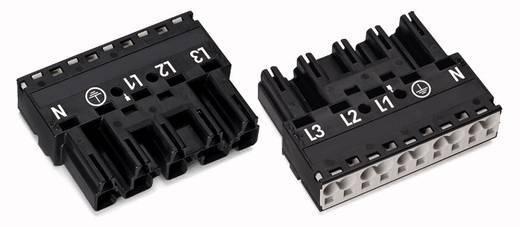 Netz-Steckverbinder Serie (Netzsteckverbinder) WINSTA MIDI Stecker, gerade Gesamtpolzahl: 5 32 A Grün WAGO 50 St.