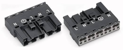 Netz-Steckverbinder Serie (Netzsteckverbinder) WINSTA MIDI Stecker, gerade Gesamtpolzahl: 5 25 A Dunkel-Grau WAGO 770-1